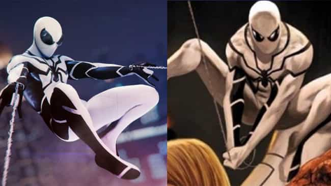 Future Foundation is listed (or ranked) 2 on the list Here's Where Every Suit In 'Marvel's Spider-Man' For PS4 Comes From In The Comics