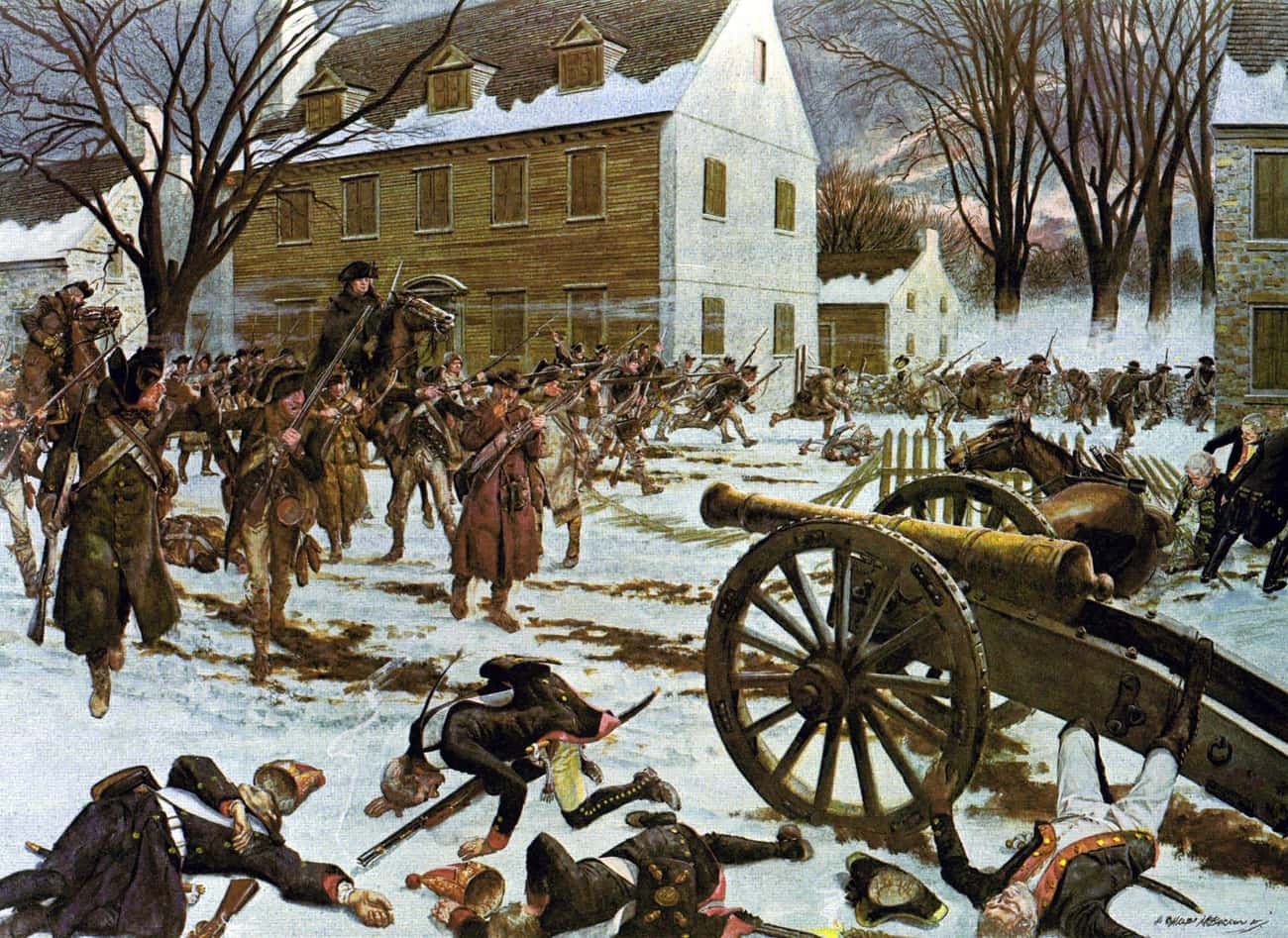 Battle Of Trenton is listed (or ranked) 2 on the list The Best American Revolution Paintings