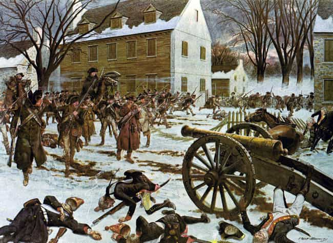 Battle Of Trenton is listed (or ranked) 3 on the list The Best American Revolution Paintings