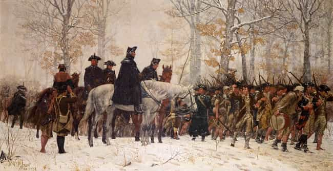 The March To Valley Forge is listed (or ranked) 4 on the list The Best American Revolution Paintings