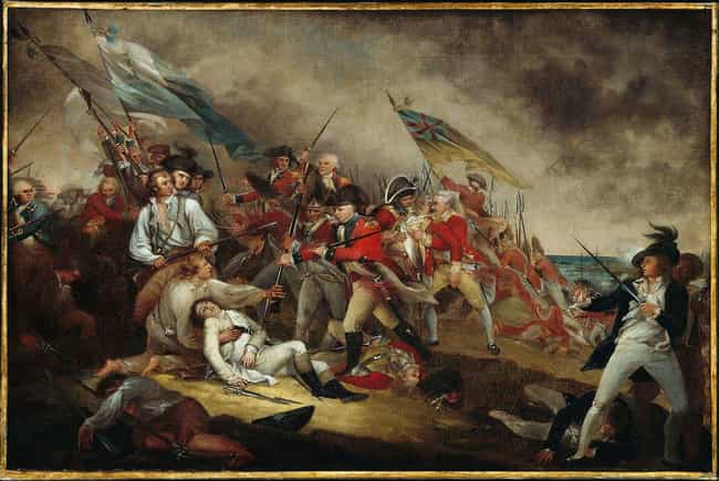 Death Of General Warren, Battl... is listed (or ranked) 2 on the list The Best American Revolution Paintings