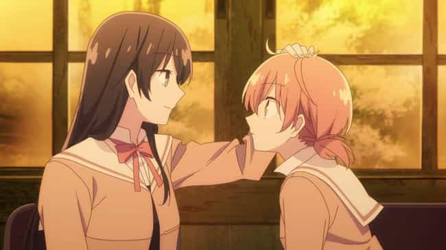 Bloom Into You is listed (or ranked) 3 on the list The 15 Best Anime To Watch On Valentine's Day