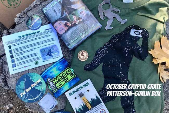 Cryptid Crate is listed (or ranked) 5 on the list 10 Creepy Subscription Boxes For Your Valentine Who Loves All Things Spooky