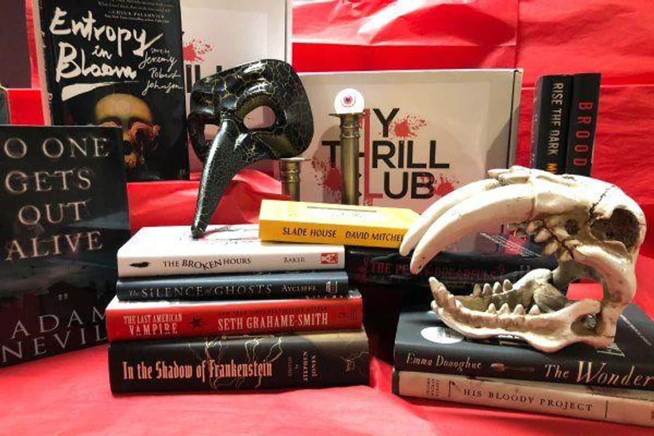 My Thrill Club is listed (or ranked) 2 on the list 10 Creepy Subscription Boxes For Your Valentine Who Loves All Things Spooky