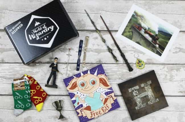 GeekGear is listed (or ranked) 1 on the list 10 Geeky Subscription Boxes For Your NerdyValentine
