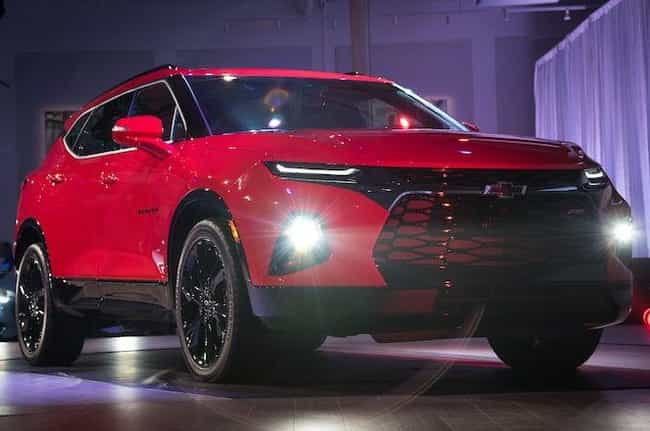 Chevrolet Blazer is listed (or ranked) 3 on the list The Best SUVs of 2019