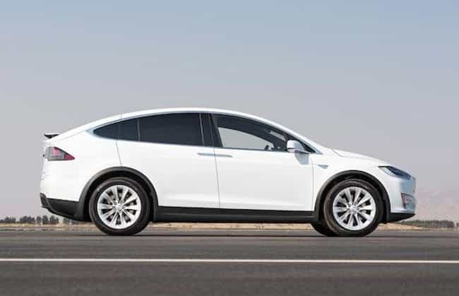 Tesla Model X is listed (or ranked) 4 on the list The Best SUVs of 2019