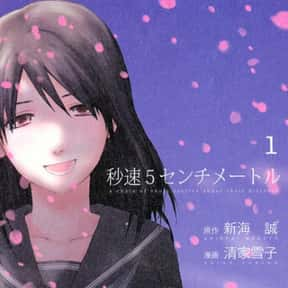 5 Centimeters Per Second is listed (or ranked) 5 on the list The Best Manga About Unrequited Love