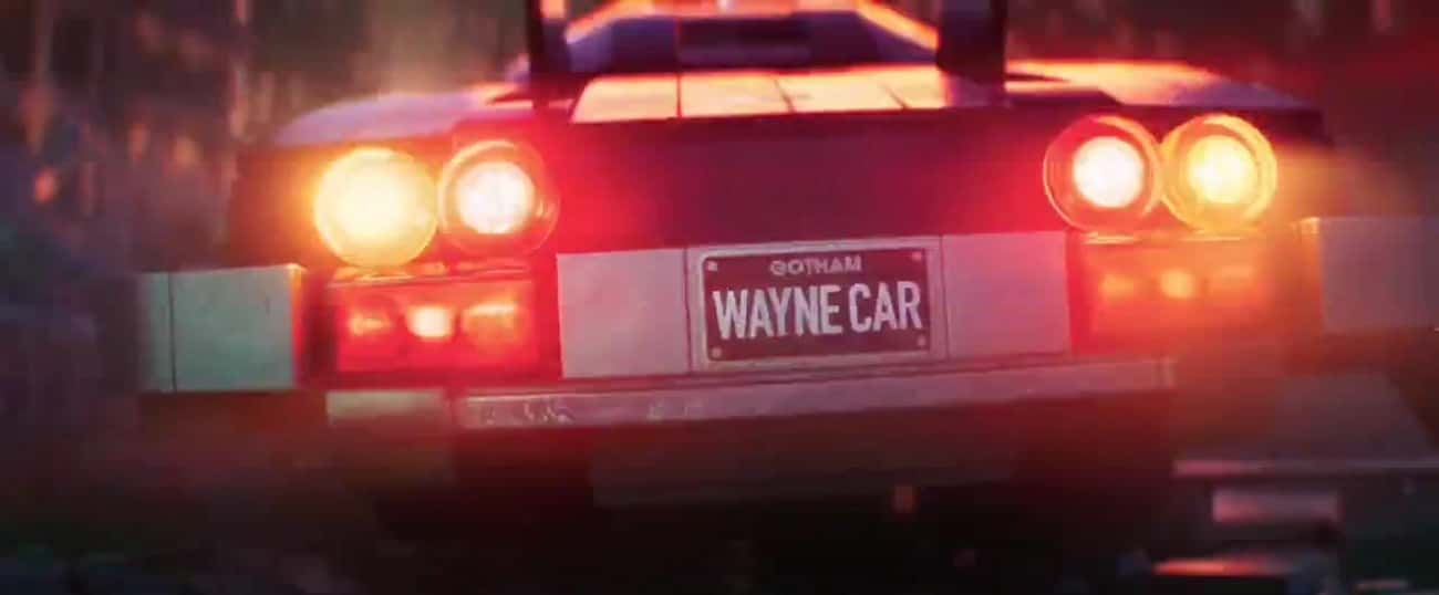 Batman's 'Wayne Car' is listed (or ranked) 1 on the list Adult Jokes You Missed In 'The Lego Movies'