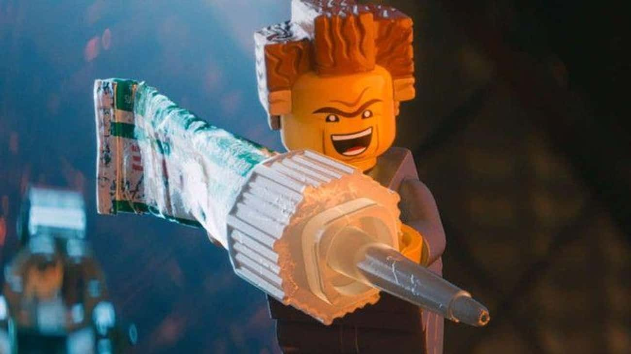 President Business Has A Weak  is listed (or ranked) 4 on the list Adult Jokes You Missed In 'The Lego Movies'