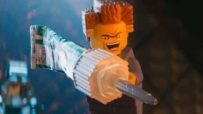 President Business Has A Weak ... is listed (or ranked) 4 on the list Adult Jokes You Missed In 'The Lego Movies'