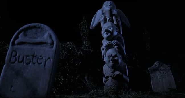 The Cemetery Contains A ... is listed (or ranked) 2 on the list Hidden Details In The 'Addams Family' Movies You May Have Missed