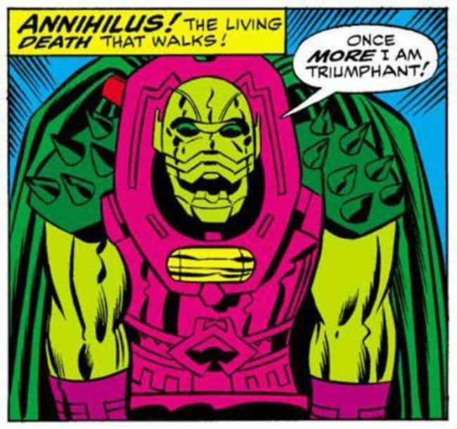 Annihilus Is Released From The... is listed (or ranked) 8 on the list Fan Theories For 'Avengers: Endgame'