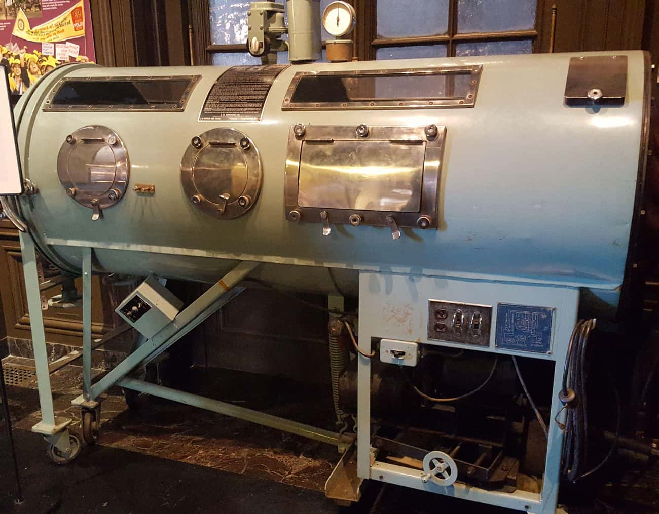 The Iron Lung Was Invented During The 1920s To Help Those Who'd Contracted Polio