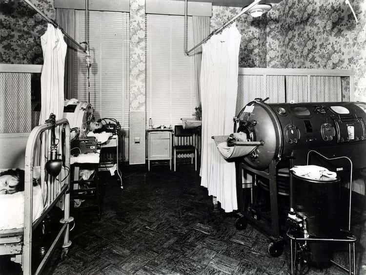 The Iron Lung Brought Much-Needed Relief And Rest To Many Patients