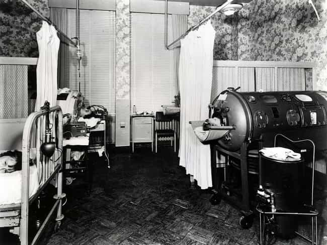 The Iron Lung Brought Much-Nee... is listed (or ranked) 1 on the list What Life Was Like In An Iron Lung