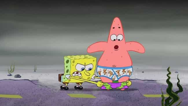Patrick Has Been Hurt Emotiona... is listed (or ranked) 4 on the list Fan Theories About Patrick On 'SpongeBob SquarePants'