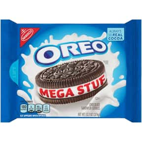 Mega Stuff Oreo is listed (or ranked) 11 on the list The Best Oreo Flavors
