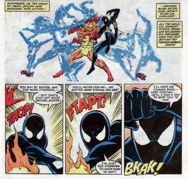 Spider-Man Overpowers A Herald... is listed (or ranked) 1 on the list Superheroes Who Defeated Opponents Way Outside Of Their Weight Class