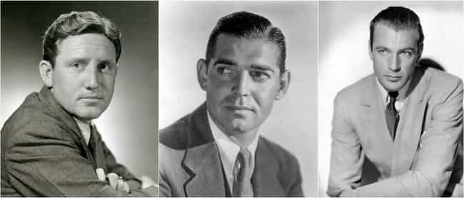 1930s: Spencer Tracy, Clark Ga... is listed (or ranked) 4 on the list Here's What 'Leading Men' Looked Like In Every Decade Of The 20th Century