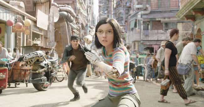 Rosa Salazar Plays Alita... is listed (or ranked) 2 on the list Easter Eggs And References In 'Alita: Battle Angel'