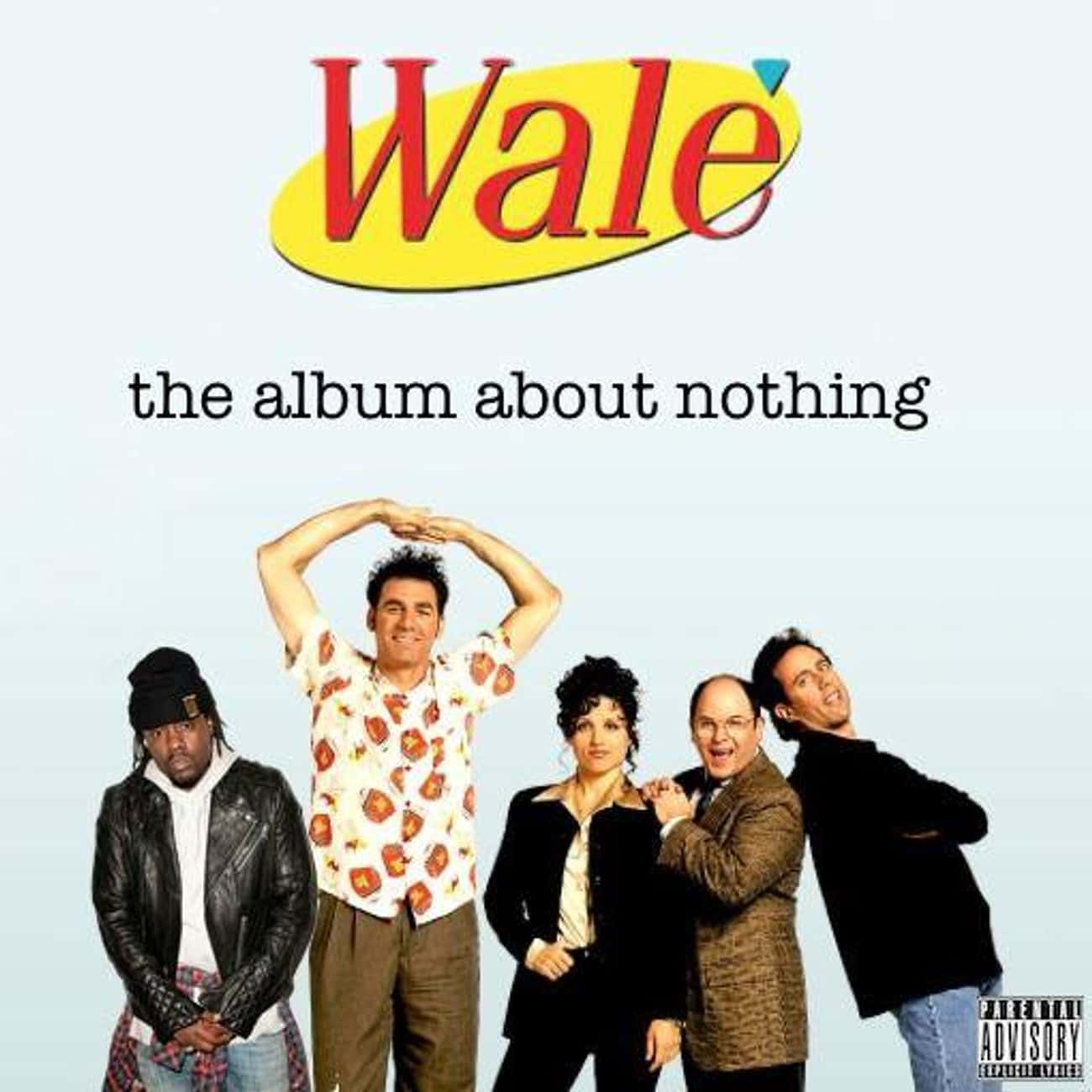 The Album About Nothing is listed (or ranked) 4 on the list The Best Wale Albums, Ranked