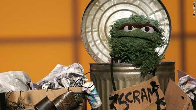 Oscar Is A Hoarder is listed (or ranked) 1 on the list Dark 'Sesame Street' Fan Theories