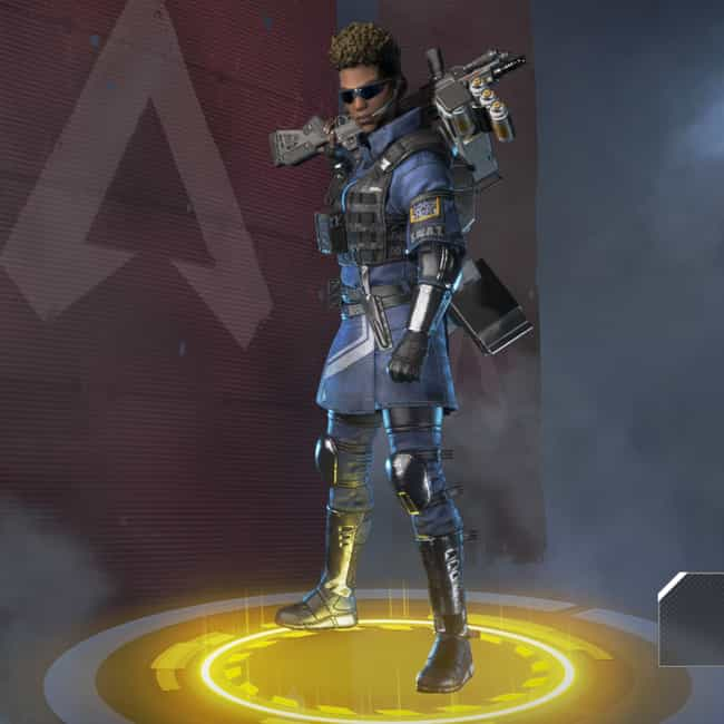 The Enforcer is listed (or ranked) 3 on the list The Best Bangalore Skins In 'Apex Legends'