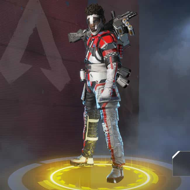Apex Overdrive is listed (or ranked) 4 on the list The Best Bangalore Skins In 'Apex Legends'