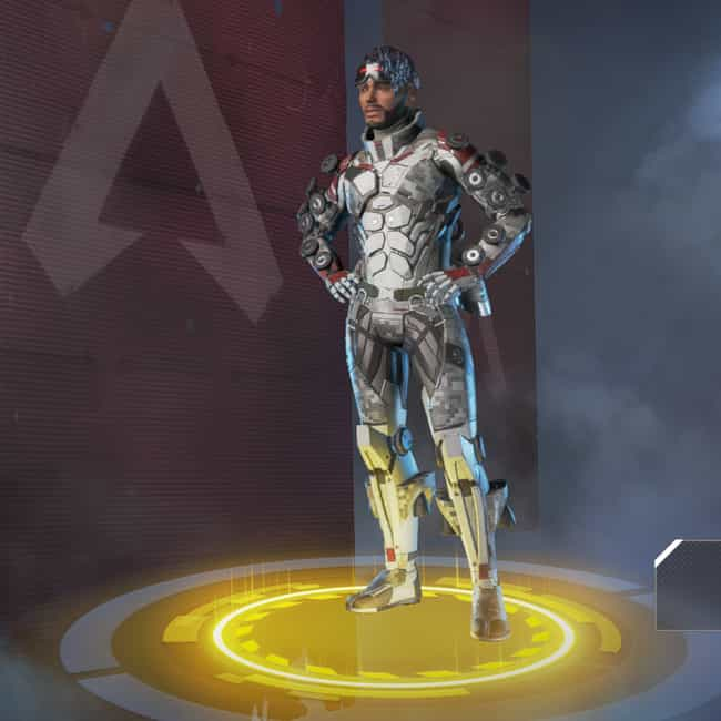 Ghost Machine is listed (or ranked) 1 on the list The Best Mirage Skins In 'Apex Legends'