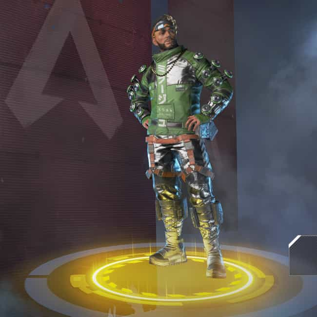 Angel City Hustler is listed (or ranked) 4 on the list The Best Mirage Skins In 'Apex Legends'
