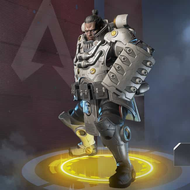 Millennium Tusk is listed (or ranked) 3 on the list The Best Gibraltar Skins In 'Apex Legends'