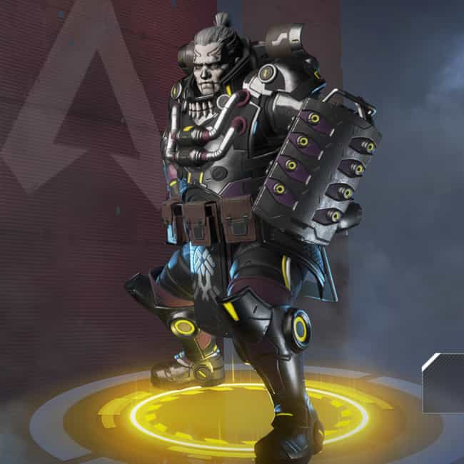 Dark Side is listed (or ranked) 2 on the list The Best Gibraltar Skins In 'Apex Legends'