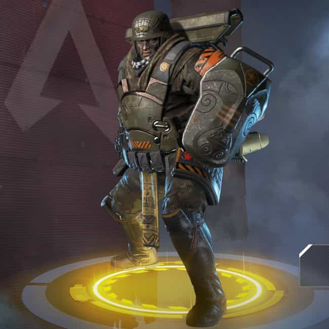 Bunker Buster is listed (or ranked) 1 on the list The Best Gibraltar Skins In 'Apex Legends'