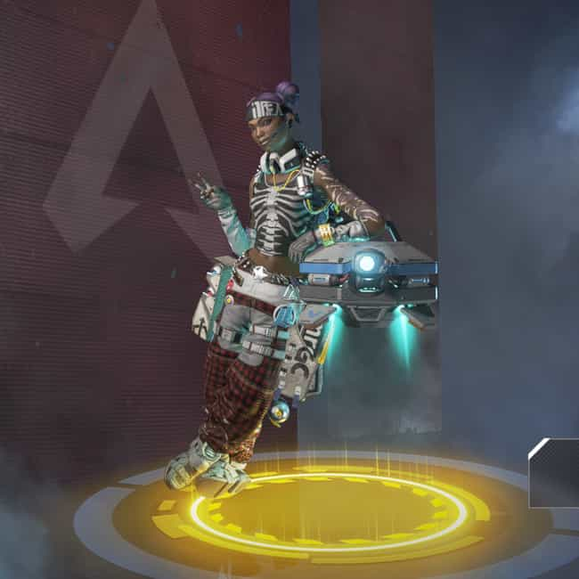 London Calling is listed (or ranked) 2 on the list The Best Lifeline Skins In 'Apex Legends'