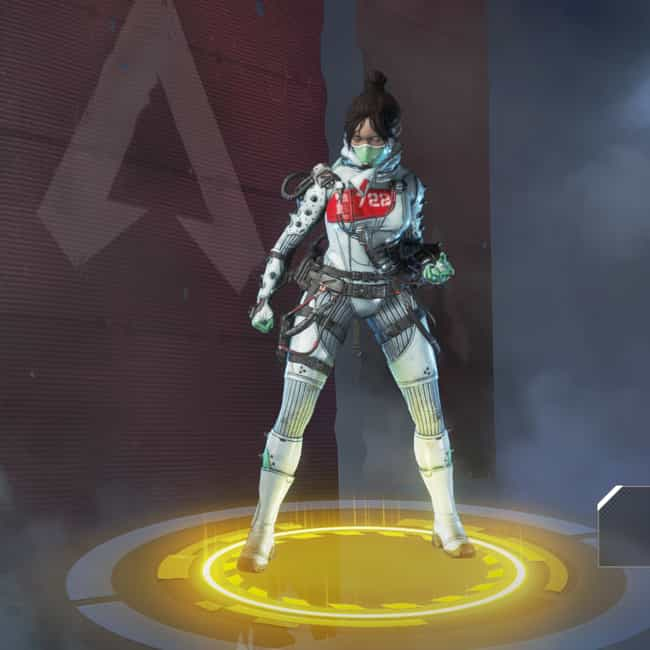 Quarantine 722 is listed (or ranked) 2 on the list The Best Wraith Skins In 'Apex Legends'