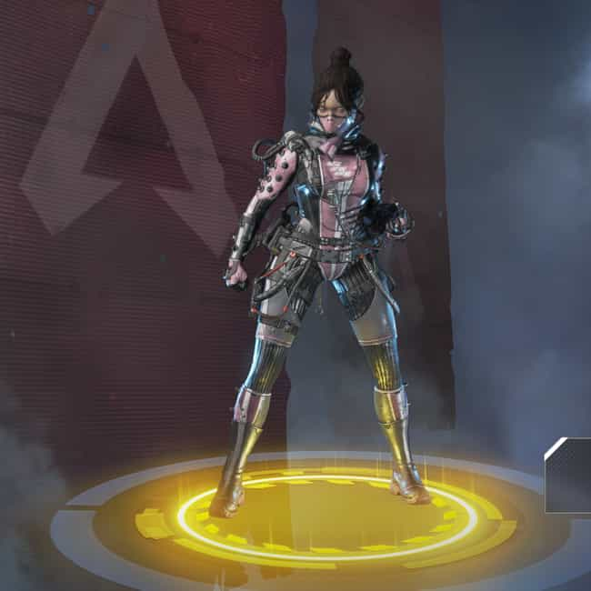 Void Specialist is listed (or ranked) 3 on the list The Best Wraith Skins In 'Apex Legends'
