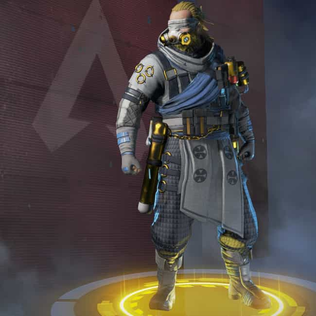 Divine Right is listed (or ranked) 2 on the list The Best Caustic Skins In 'Apex Legends'