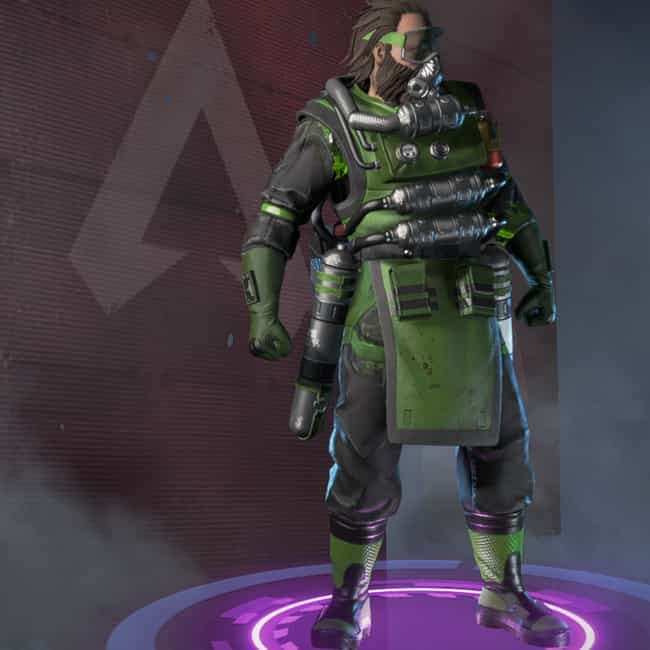 Illegal Operation is listed (or ranked) 4 on the list The Best Caustic Skins In 'Apex Legends'