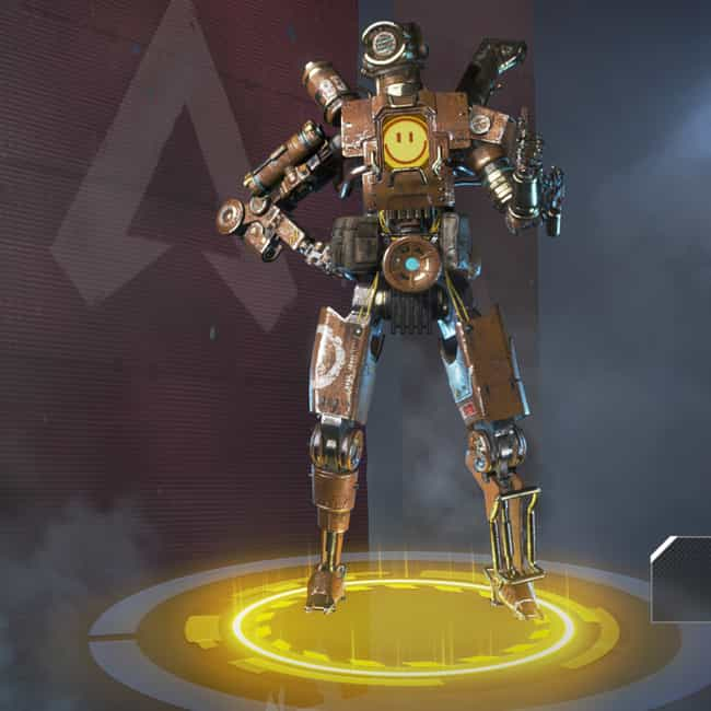 Model P is listed (or ranked) 3 on the list The Best Pathfinder Skins In 'Apex Legends'
