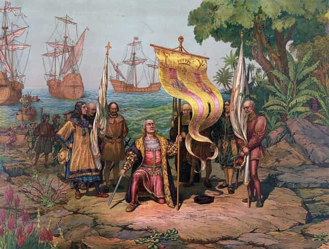 Columbus Miscalculated His Way... is listed (or ranked) 1 on the list Mistakes That Created Modern America