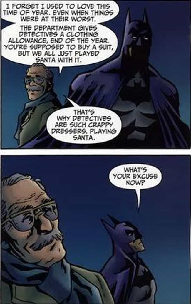 Criticizing The Commissioner is listed (or ranked) 4 on the list 14 Times Batman Actually Cracked A Joke