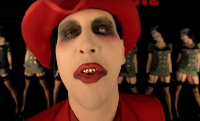 His Mother Used To Dress Him I... is listed (or ranked) 1 on the list Everything Marilyn Manson Has Said About His Makeup