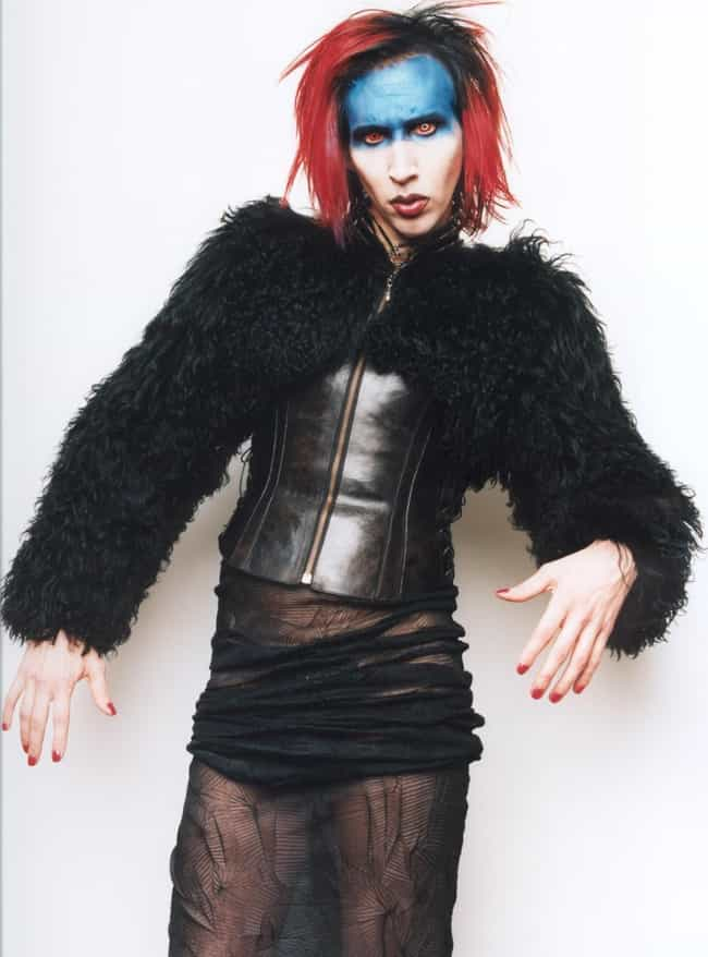 He Pocketed Maybelline Eyeline... is listed (or ranked) 2 on the list Everything Marilyn Manson Has Said About His Makeup