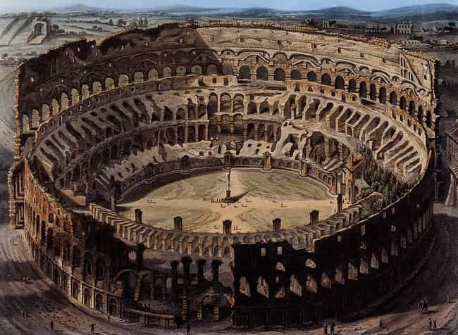 Tickets Were Free, But The Sea... is listed (or ranked) 1 on the list What It Was Like To Be A Spectator In The Roman Colosseum