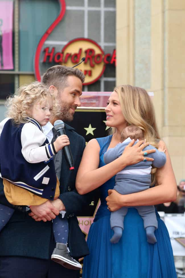 They're Proud, Loving Parents is listed (or ranked) 3 on the list 12 Facts That Prove Blake Lively And Ryan Reynolds Are Couple Goals