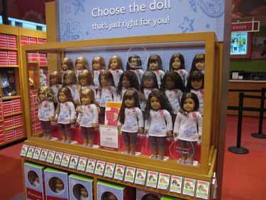 American Girl Cafe is listed (or ranked) 2 on the list The Craziest Themed Restaurants From The '90s Themed Restaurant Craze