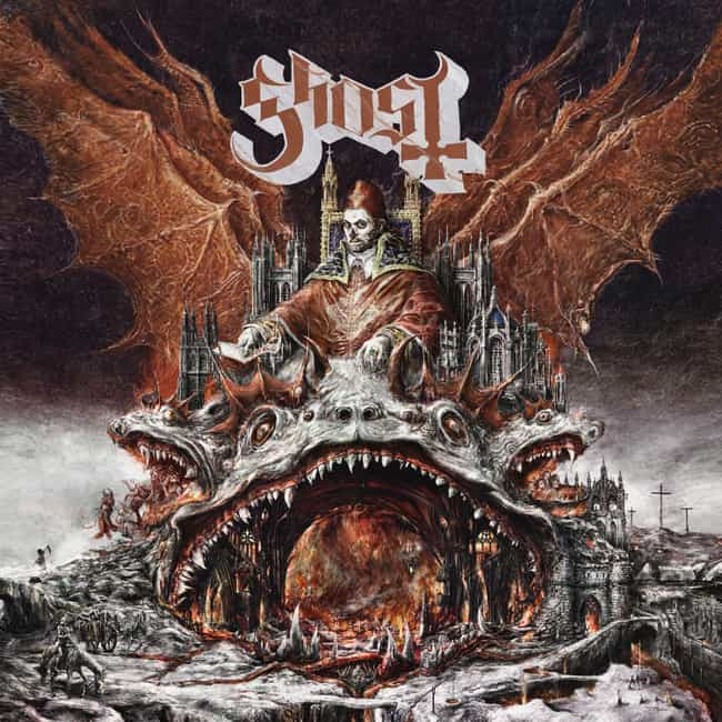 US Record Manufacturers Reject... is listed (or ranked) 3 on the list Awesome Facts About The Occult Rock Band Ghost