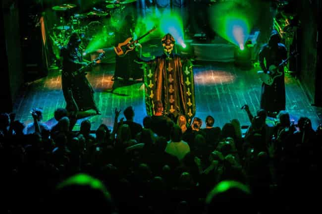 Their Fans Protected Their Tru... is listed (or ranked) 4 on the list Awesome Facts About The Occult Rock Band Ghost