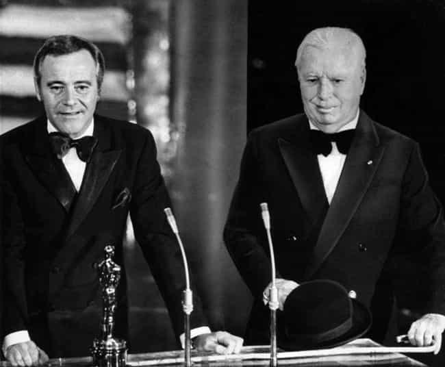 Jack Lemmon Gives Charli... is listed (or ranked) 4 on the list Photos Of Old Hollywood Stars At The Oscars